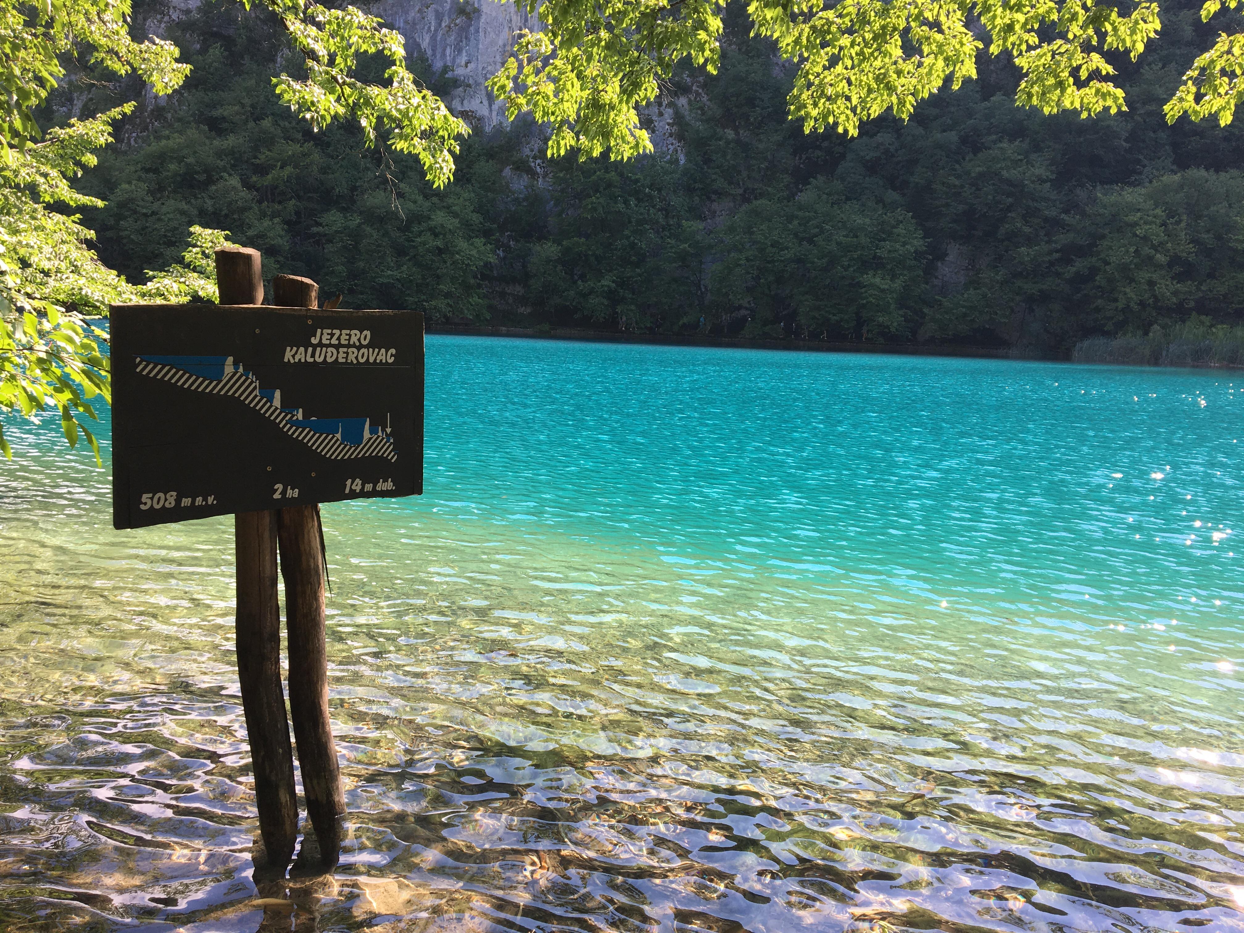 plitvice lakes national park croatia the colourful kind