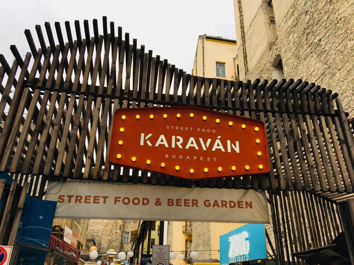 Budapest: Breakfast in Cirkusz, Little Cake Shops & Street Food on a cardboard tray