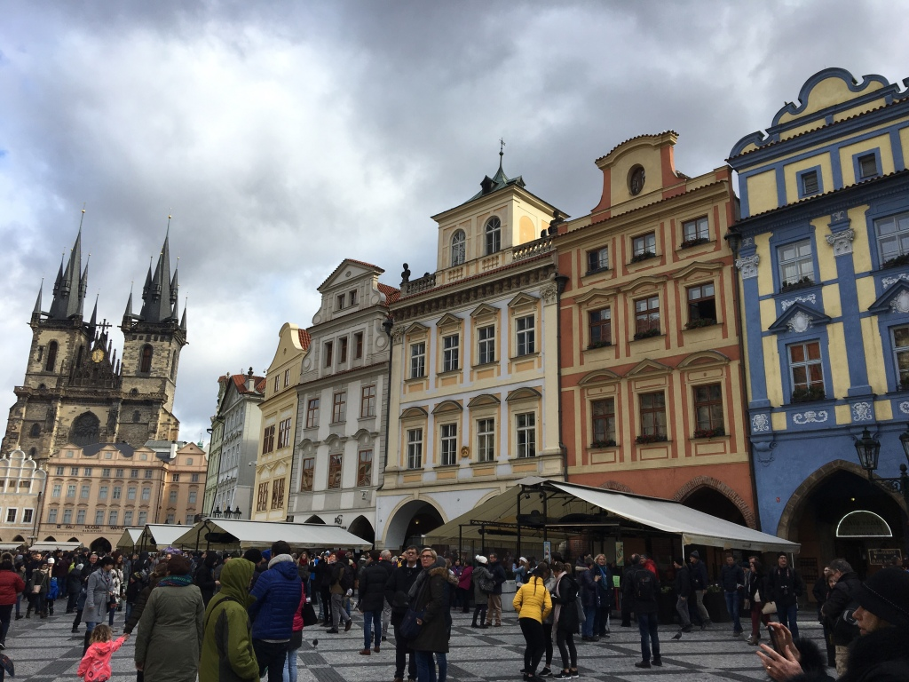 Fantastic Prague Old Town Square The Colourful Kind Home Interior And Landscaping Oversignezvosmurscom
